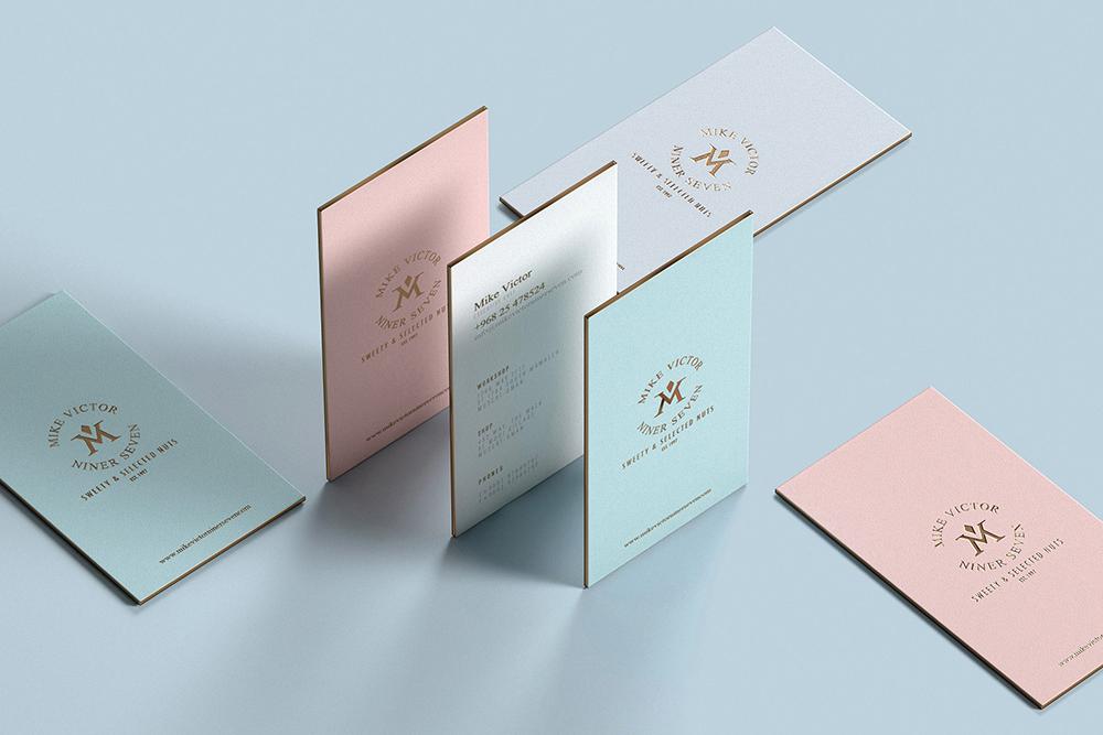 深圳品牌VI设计公司分享糖果食品品牌VI设计案例-品牌VI名片