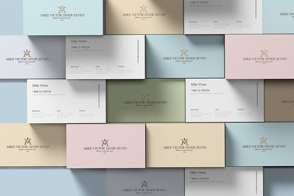 深圳品牌VI设计公司分享糖果食品品牌VI设计案例-VI名片设计