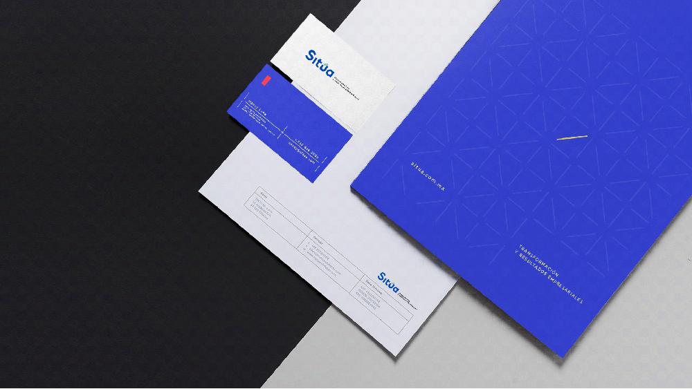品牌VI設計公司 - SITúA咨詢公司品牌視覺VI形象設計-VI設計物料