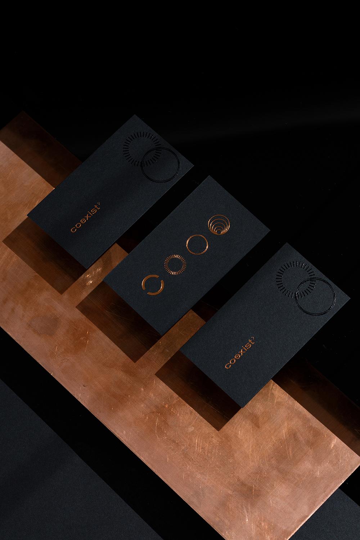 品牌VI設計咨詢公司-Coexist® Records創意咨詢公司-VI設計公司