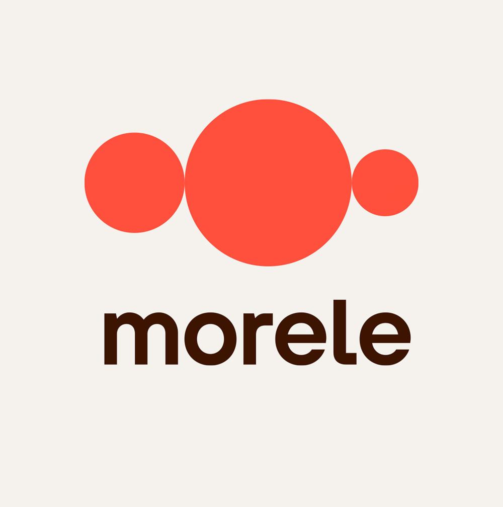 互联网品牌VI设计公司最新发布波兰电商品牌Morele更新全新品牌形象_互联网logo设计