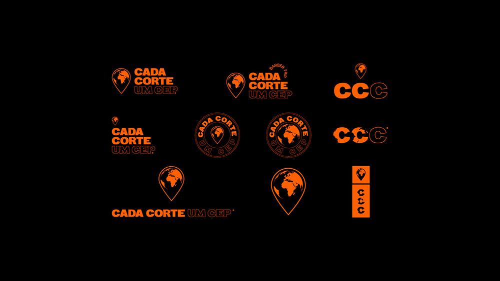 深圳品牌包装设计公司分享CEP公益理发事业品牌VI设计_VI设计