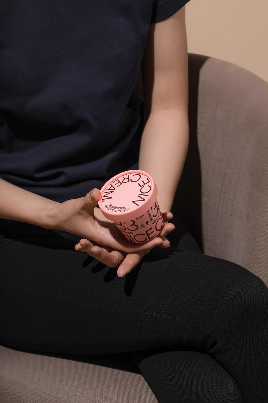 深圳VI設計公司整理 NICE CREAM 奈似雪糕品牌設計案例-深圳VI設計2